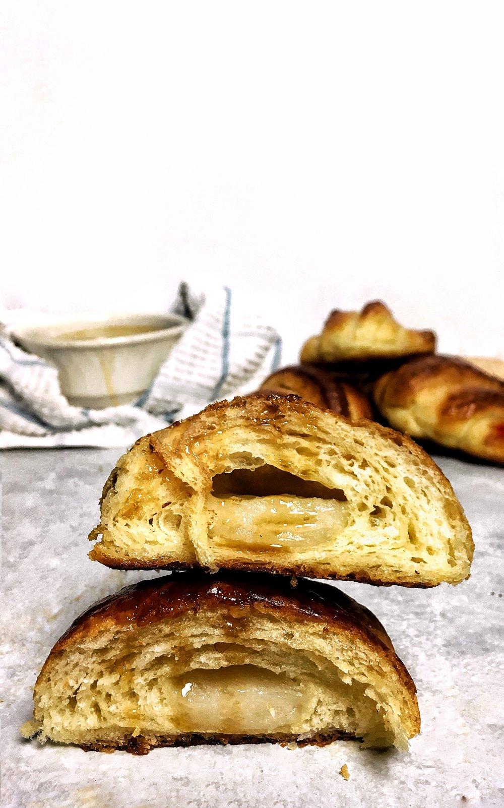 Mitarashi Mochi Croissant - Brad & Butter - February 26, 2019