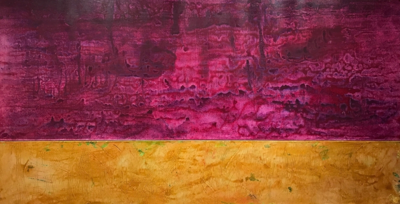 IN AND OUT #3   Acrylic and Oil, 32x60   Available
