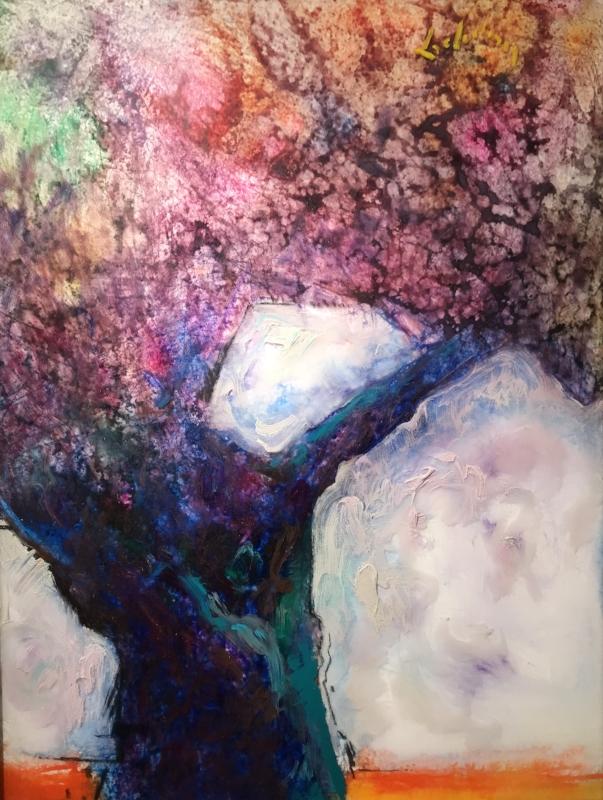 TREE OF LIFE - I   Acrylic, 24 x 30   Available