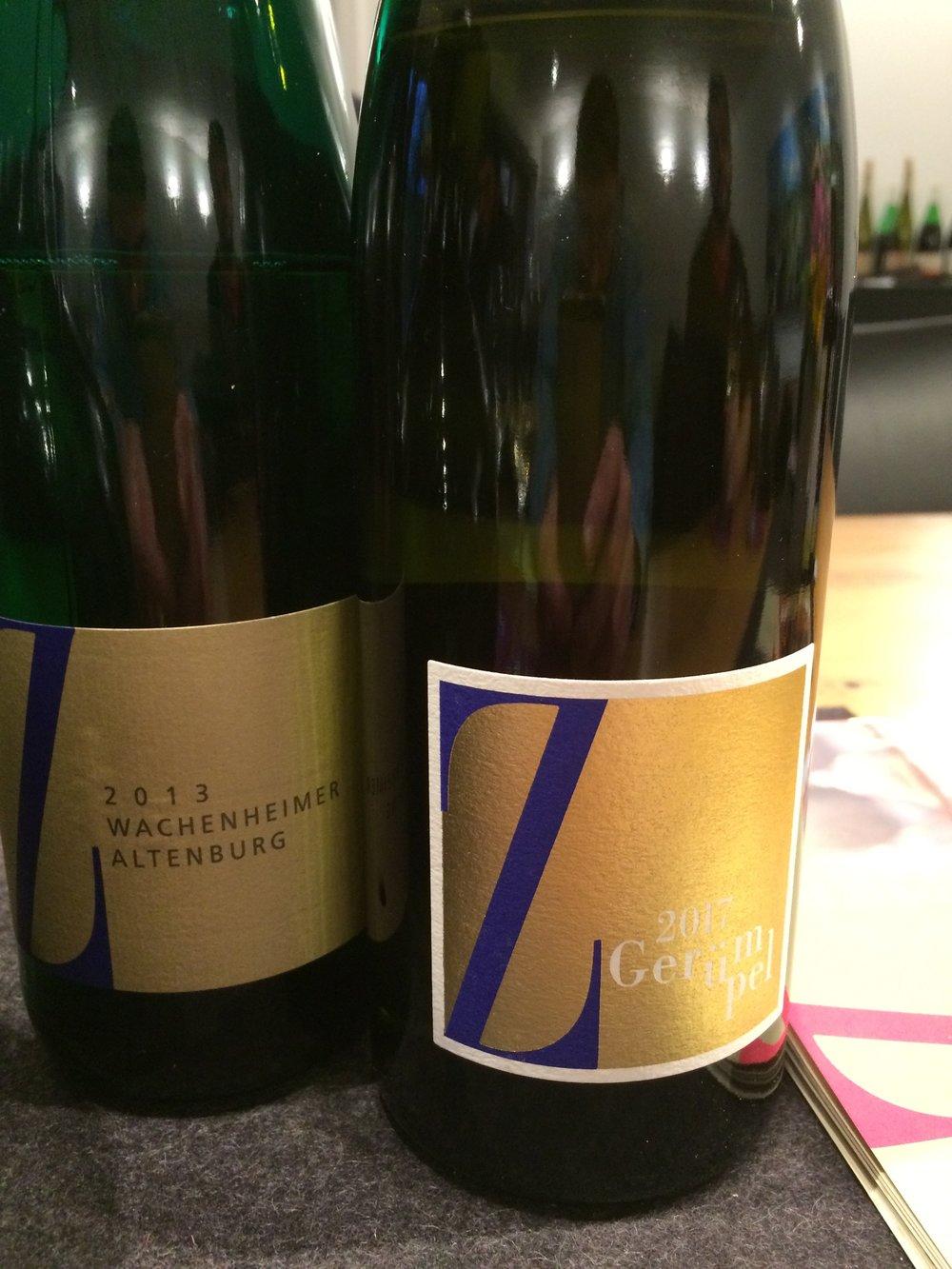 Vin coup de coeur ? - Wachenheimer Altenburg 2013. Sans avoir l'amplitude et la portée des GG (Grands Crus) dégustés ailleurs, on a plutôt affaire ici à un vin de fraîcheur, de fine minéralité et d'équilibre.
