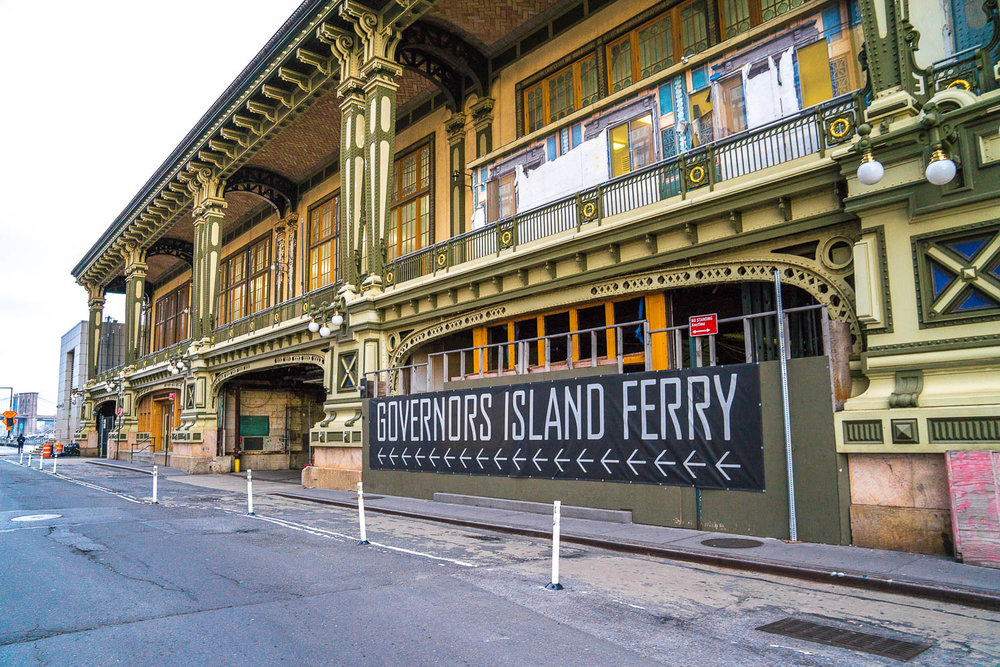 <strong>#13:</strong> Battery Maritime Building (Governors Island Ferry)