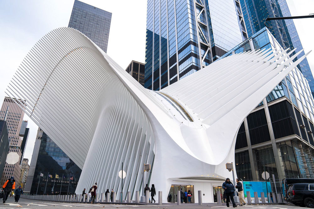 <strong>#28:</strong> The Oculus / World Trade Center PATH Station
