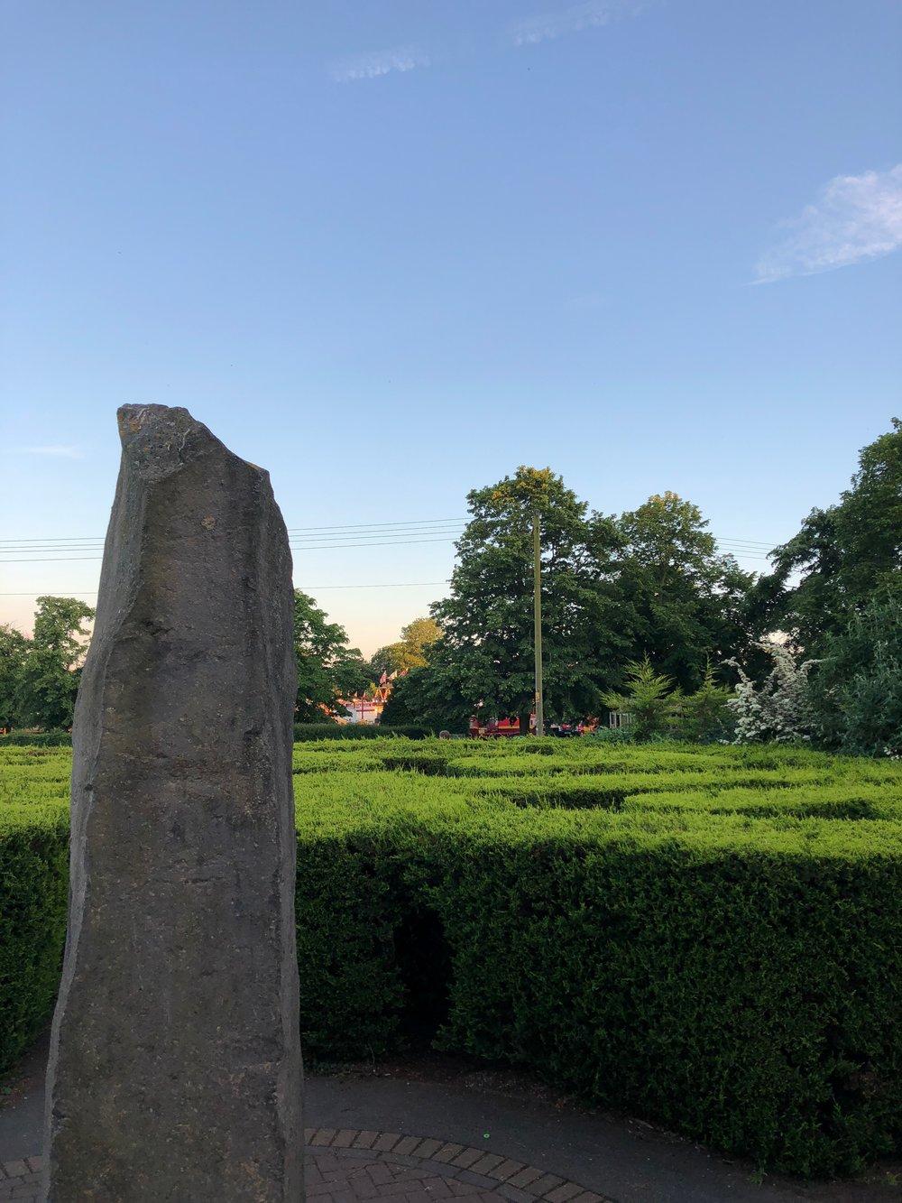 Hedge Maze at Maldon Promenade Park, UK
