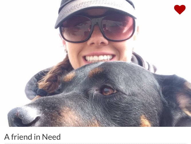 Molli from her GoFundMe Page