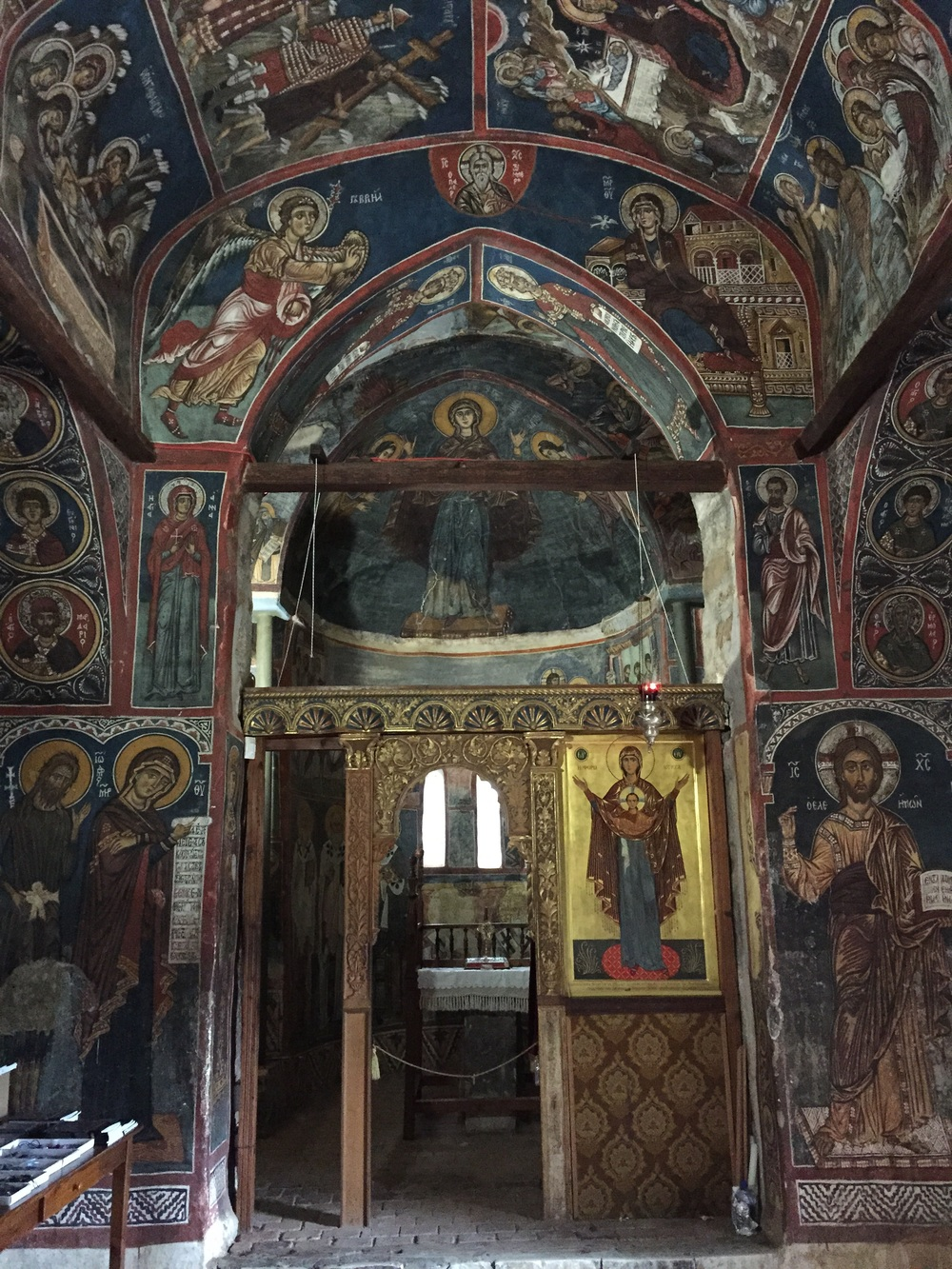 1106 CE Bizantine Monastery in the Troodos Mountains