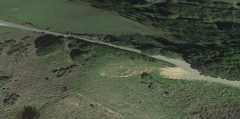 Google Earth aerial photo 2018
