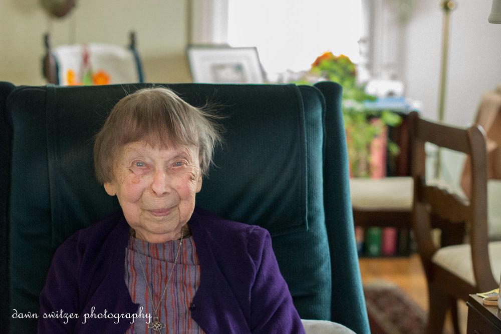 Margaret at 101