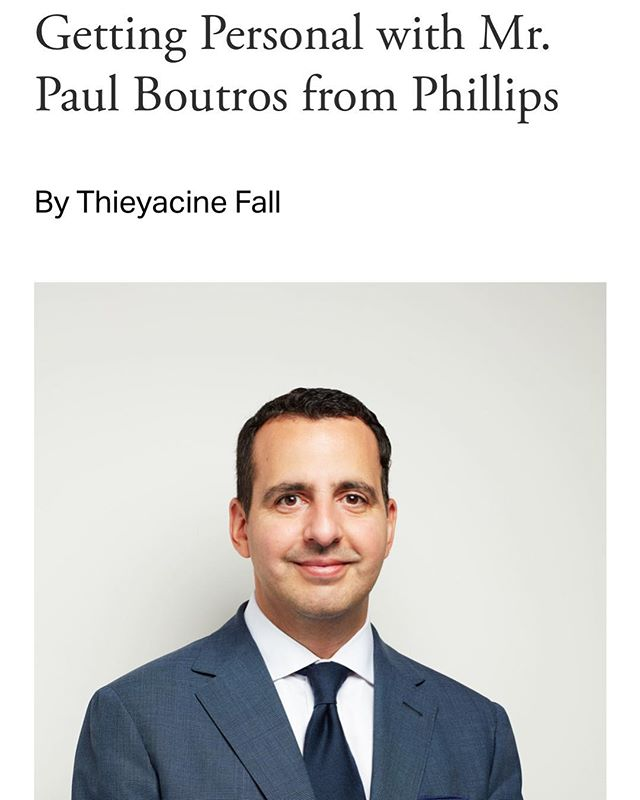 Check out our @montarrmedia interview with @pboutros of @phillipswatches. Click on the link in bio for more info! #vintagewatches #phillipswatches