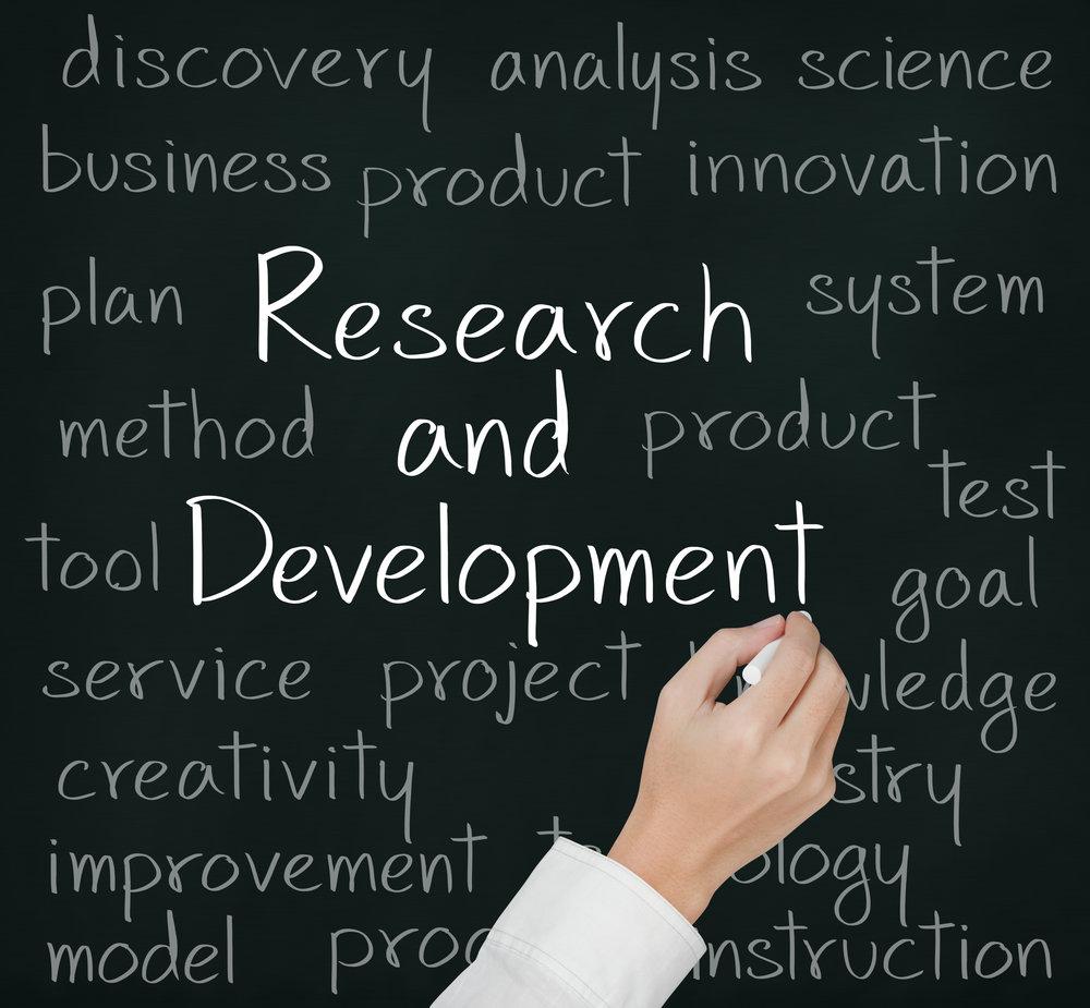 research and development on blackboard.jpg