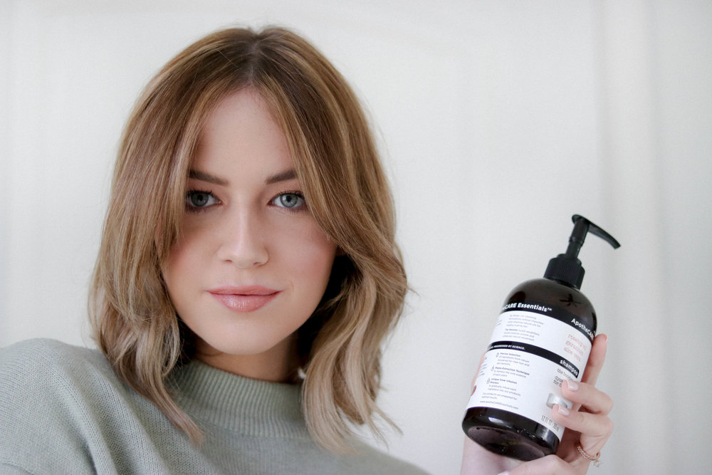The Natural Volume Look Shelbey W