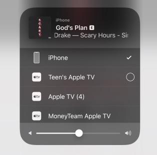Hægt er að velja og stjórna hverju tæki fyrir sig í iOS 11.4 B2.