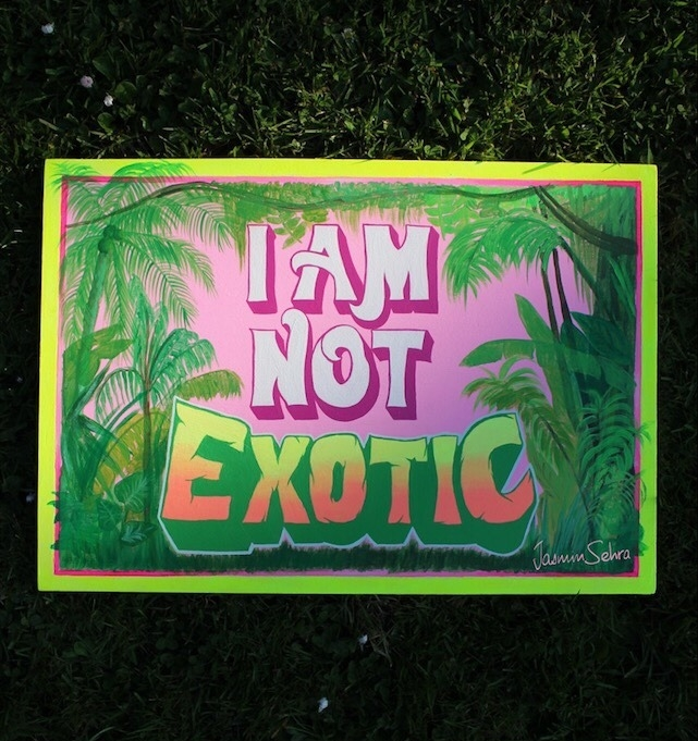 I AM NOT EXOTIC JASMIN SEHRA.jpg
