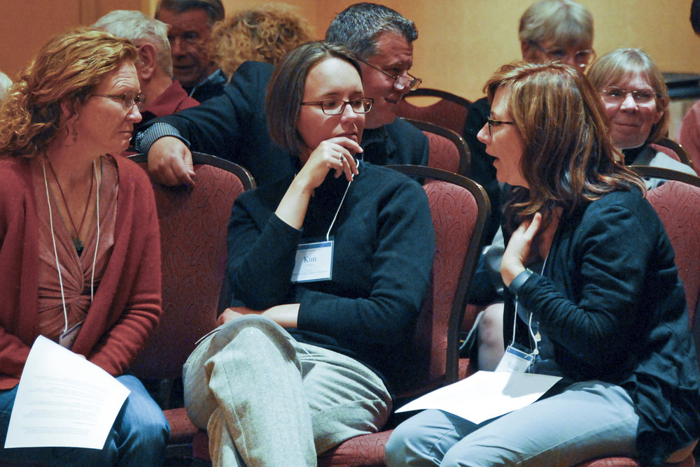 Clergy at the Annual Clergy Conference gather for a time of worship, learning, reflection, and prayer. Photos courtesy The Reverend Brian Winter