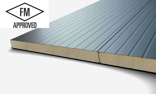 Superwall Frigo - Metecno Superwall Frigo is a lightweight sandwich panel with a built in PIR fire resistant core.
