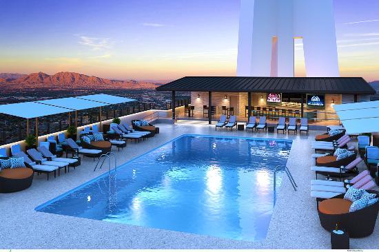 Radius Rooftop Pool, Stratosphere