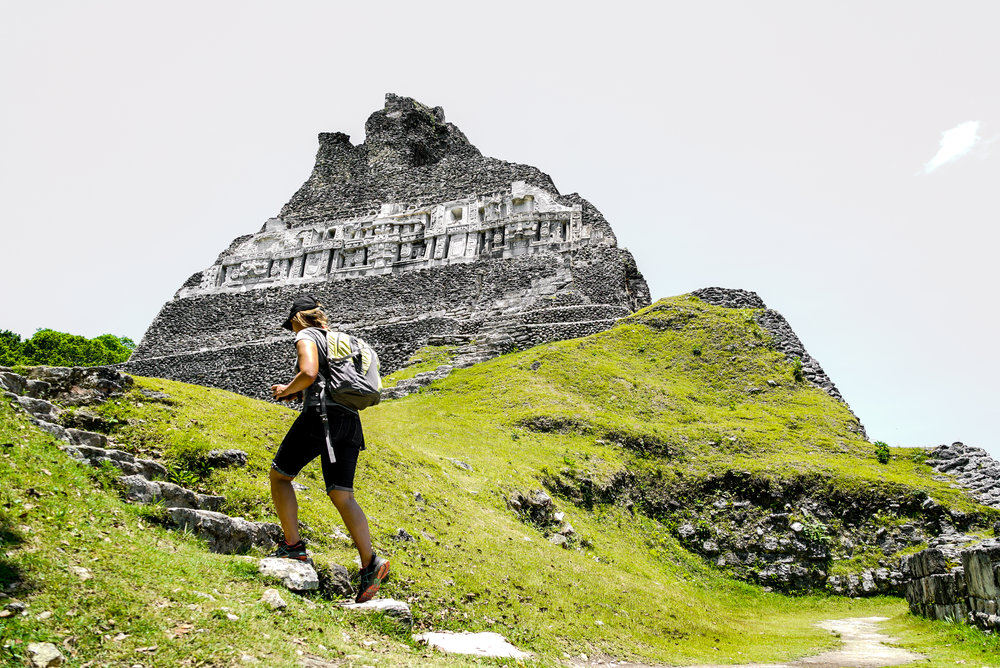 Mayan Ruins - From Xunantunich to the Cahal Peche, touring ruins from ancient Belizean civilizations is a fun way to learn about local history. This is a full day tour and includes lunch.