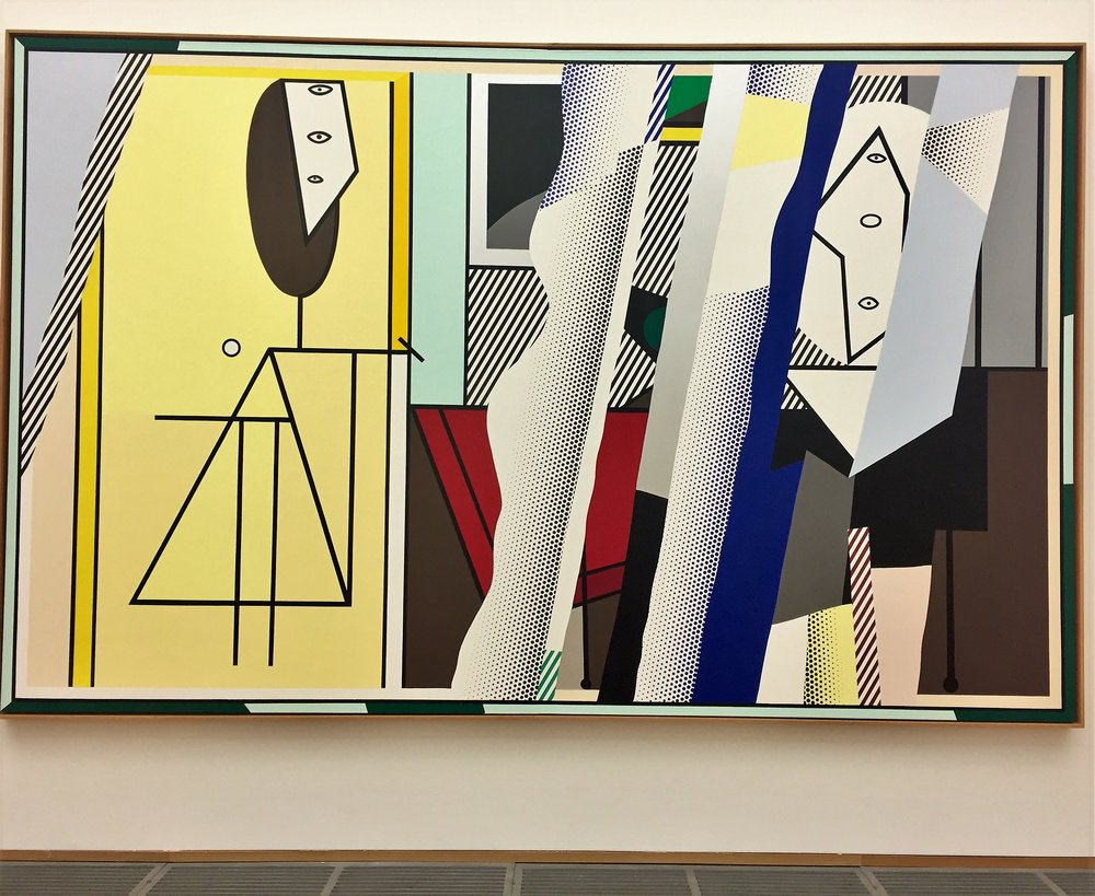 Roy Lichtenstein Reflections on The Artist's Studio 1989 .jpeg