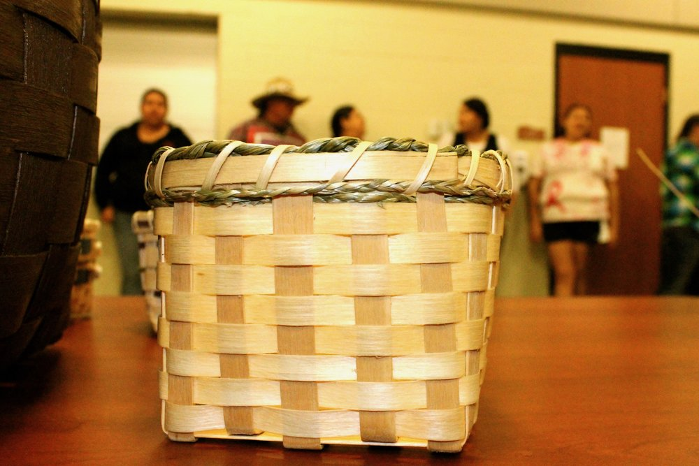 Seneca Basket-Making Class 2014 CCC