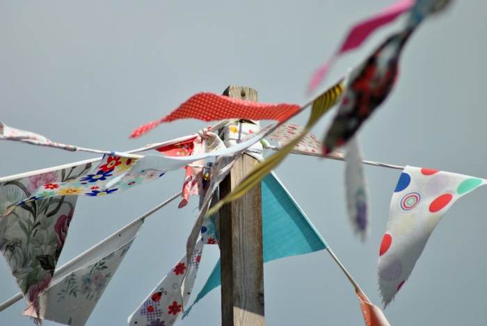 Bunting at The Mustard Pot