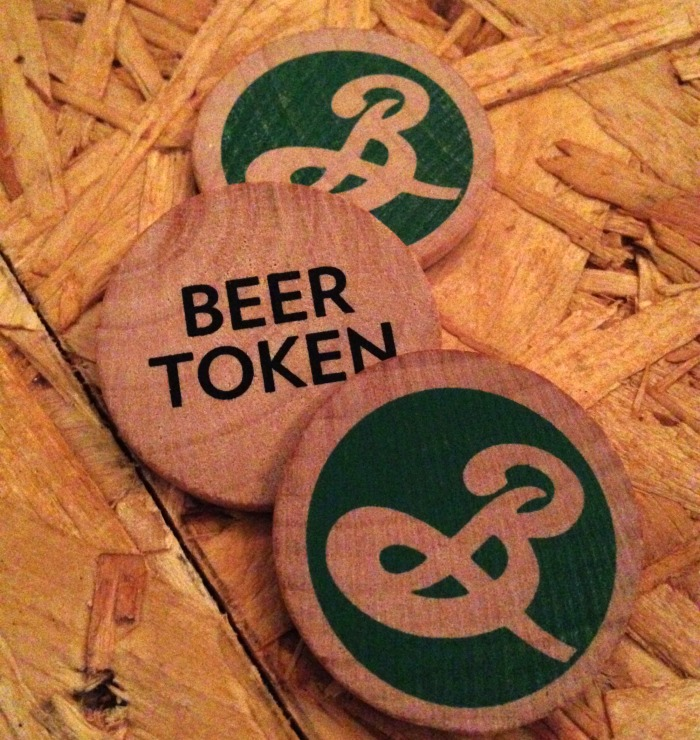 brooklyn brewery pop up tokens