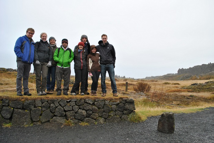 group in iceland