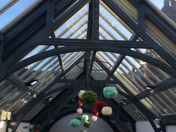 handpicked hall roof