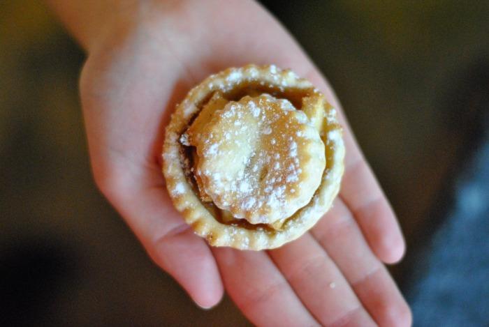 winter apple pie