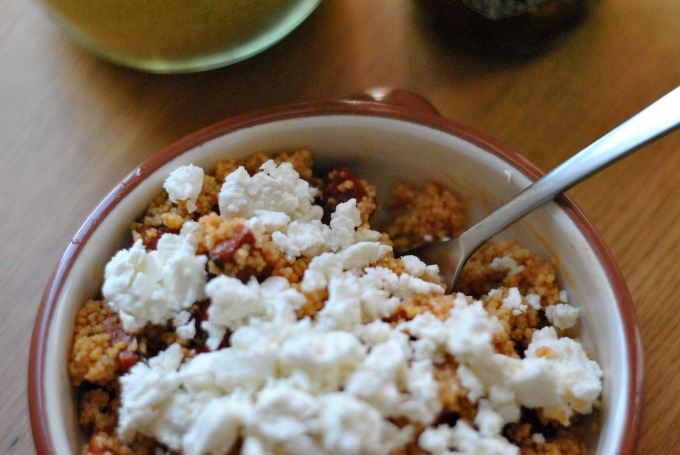 Chorizo and Feta Couscous Salad // Amy Elizabeth