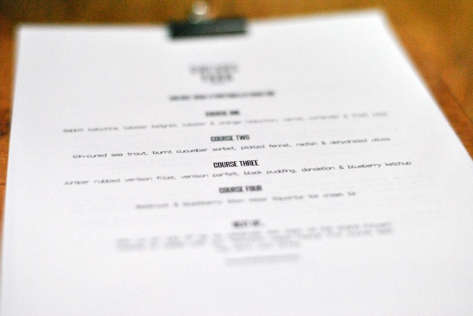 Menu at Shears Yard restaurant, Leeds