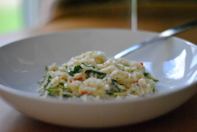 Crab & Courgette Risotto // Amy Elizabeth