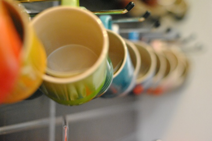 Row of Le Creuset Mugs // Amy Elizabeth