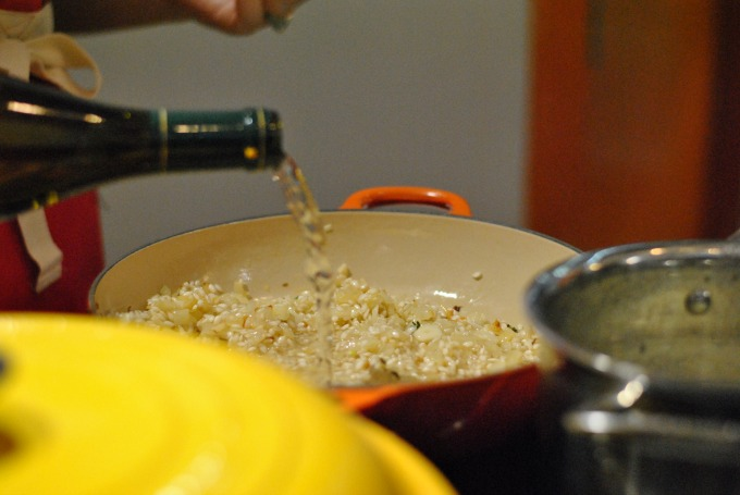 Cooking Risotto // Amy Elizabeth