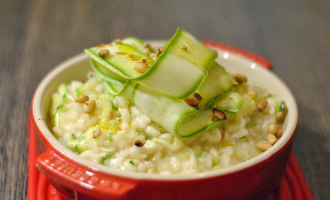 Courgette Risotto // Amy Elizabeth
