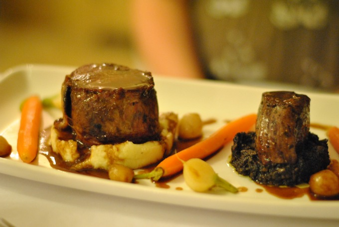 Beef at Ox Pasture Hall Hotel Review, Scarborough, Yorkshire
