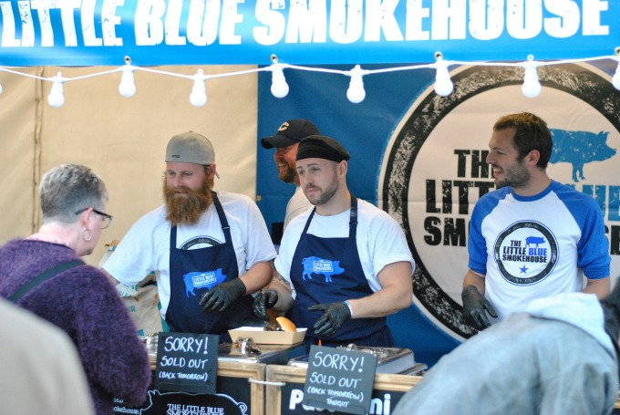 Little Blue Smokehouse at British Street Food Awards 2014 // Amy Elizabeth