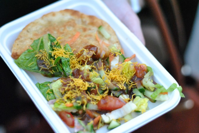 Manjit's Kitchen Chapasty at British Street Food Awards 2014 // Amy Elizabeth