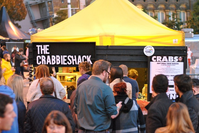 The Crabbieshack at The British Street Food Awards 2014 // Amy Elizabeth