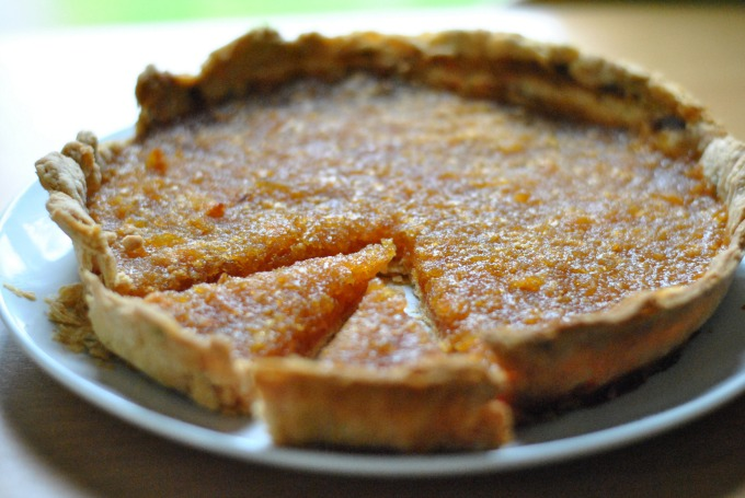 Rosemary & Lemon Treacle Tart // Amy Elizabeth