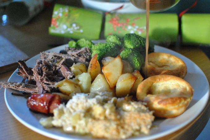 Beef Christmas Dinner // Amy Elizabeth
