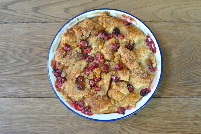 Croissant and Cranberry Pudding // Amy Elizabeth