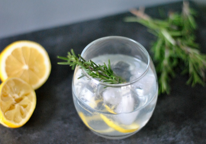 Lemon & Rosemary Gin & Tonic