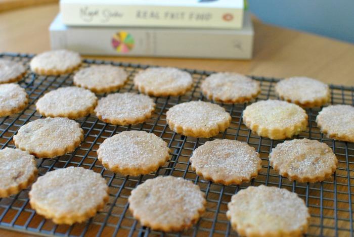 Ginger Shortbread Biscuits