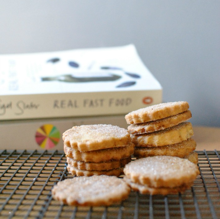 Ginger Shortbread Biscuits