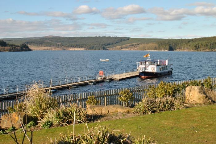 Kielder Water Boat