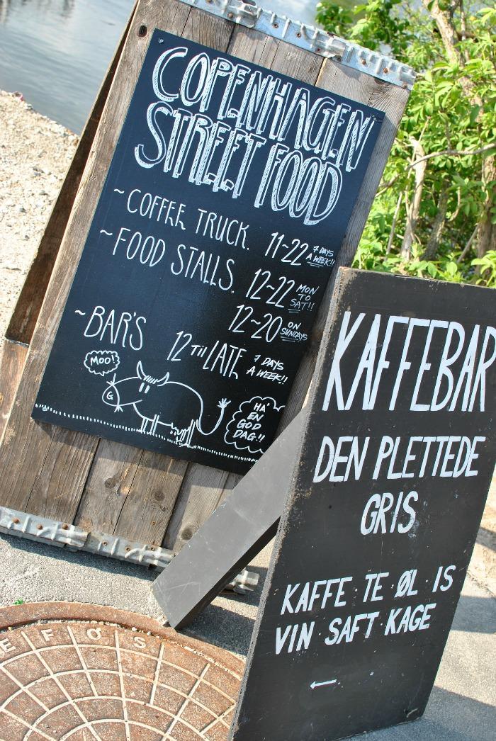 copenhagen street food sign