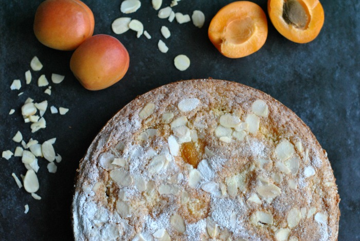 Apricot & Almond Cake // Amy Elizabeth