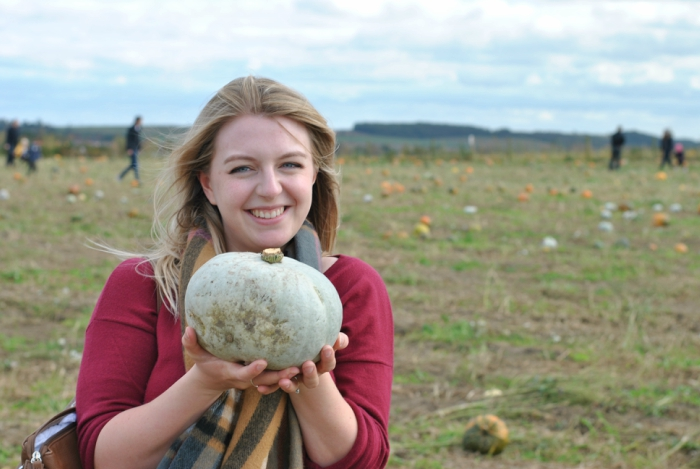 Pumpkin Picking at Farmer Copleys, Pontefract // Amy Elizabeth