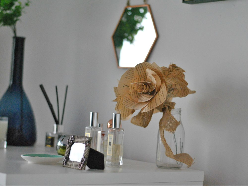Dressing Table with Paper Flowers.jpg
