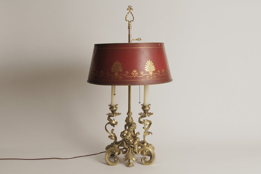 French bronze table lamp atop french bronze table lamp aloadofball Image collections