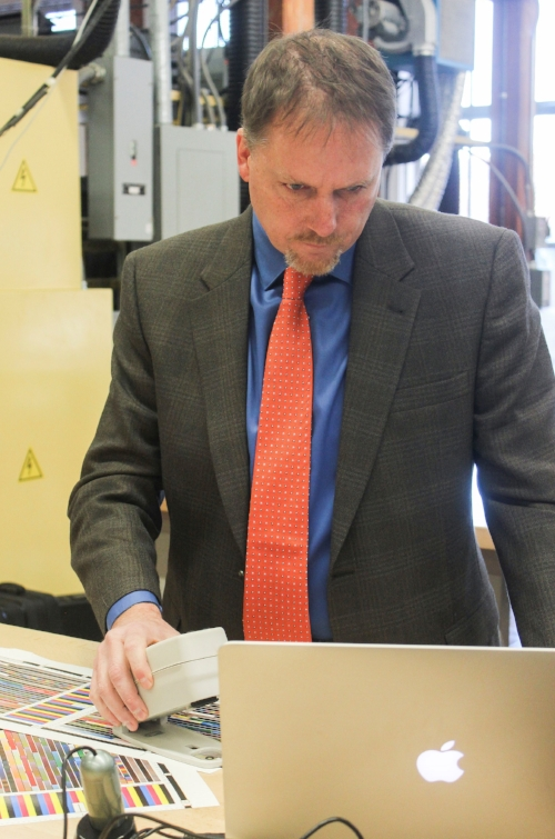Tonkin, Chair of the Graphic Communications Department and also Director of The Sonoco Institute of Packaging Design and Graphics at Clemson University